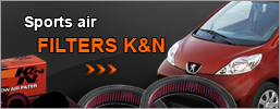 Sports air filters K&N, partnership e-shop, Chiptuning DIESEL TECHNIK